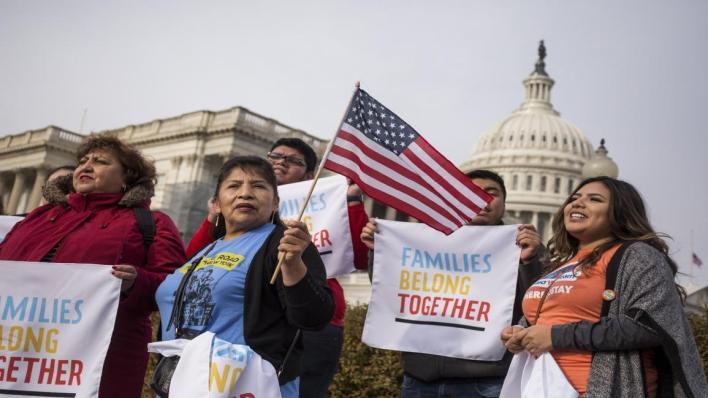 احتجاج أمام الكونغرس- Getty