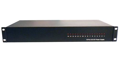 16 port 20 amp 12vdc power server