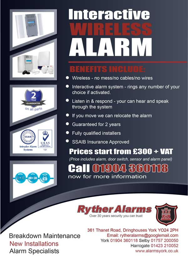 Security Alarm System Uk