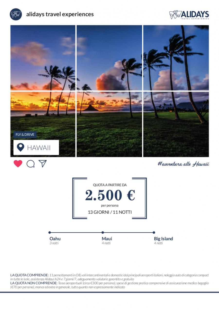 Alashan Viaggi Verona - FLY&DRIVE HAWAII