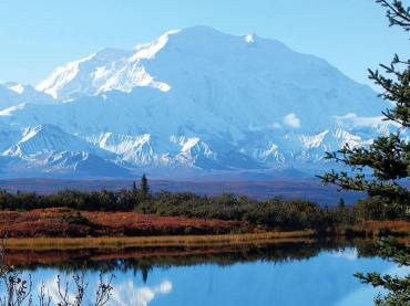 Mount Denali with Reflection