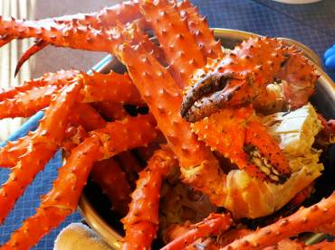 Alaska King Crab Legs are on the Menu