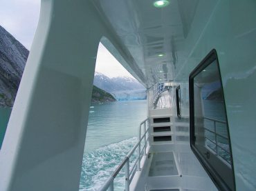 View from the Rail of the Misty Fjord