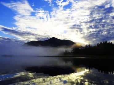 Morning Scenery in Protected Bay
