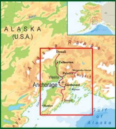 Alaska Grand Explorer Tour Map