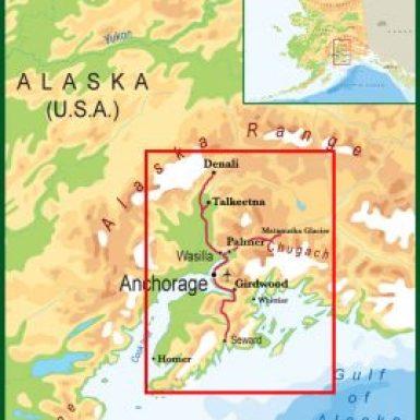 Alaska Grand Explorer Tour Map