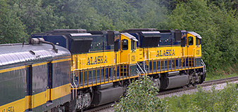 Alaska Railroad tour