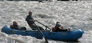 River rafting on the Nenana in Denali