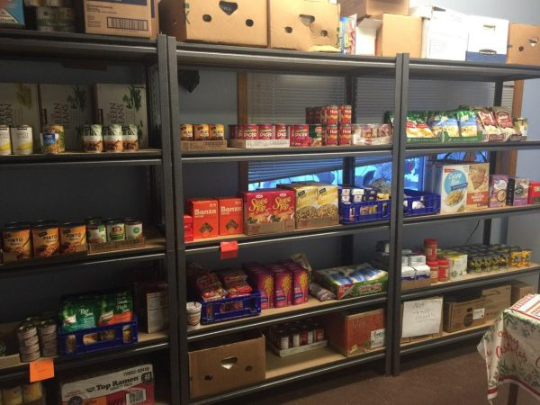 Inside the Upper Susitna Food Pantry. (Photo courtesy of Andrea Manning)