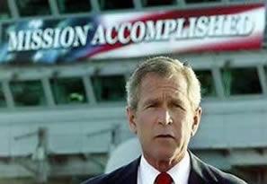 Pres George Bush - Mission Accomplished