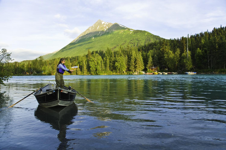 Alaska Rivers Company Fly Fishing Drift Boat