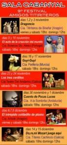9 festival amigos titiriteros