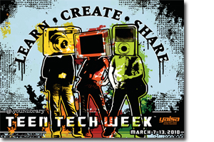 Teen Tech Week Poster