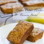 Peanut Butter Honey Banana Bread