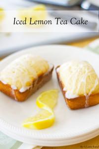 Iced Lemon Tea Cake | A Latte Food