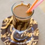 Healthy Peanut Butter Chocolate Milkshake | A Latte Food