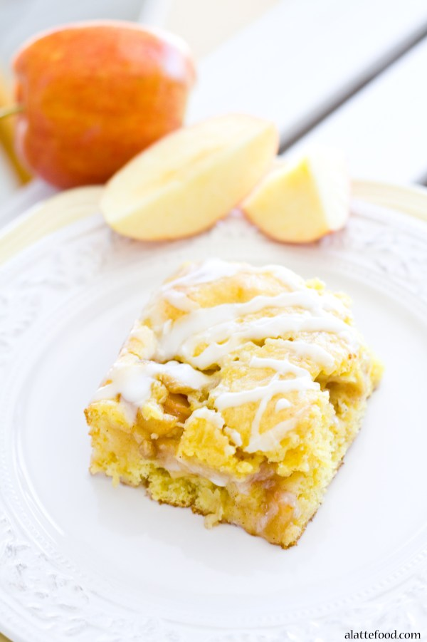 Apple Pie Coffee Cake | A Latte Food