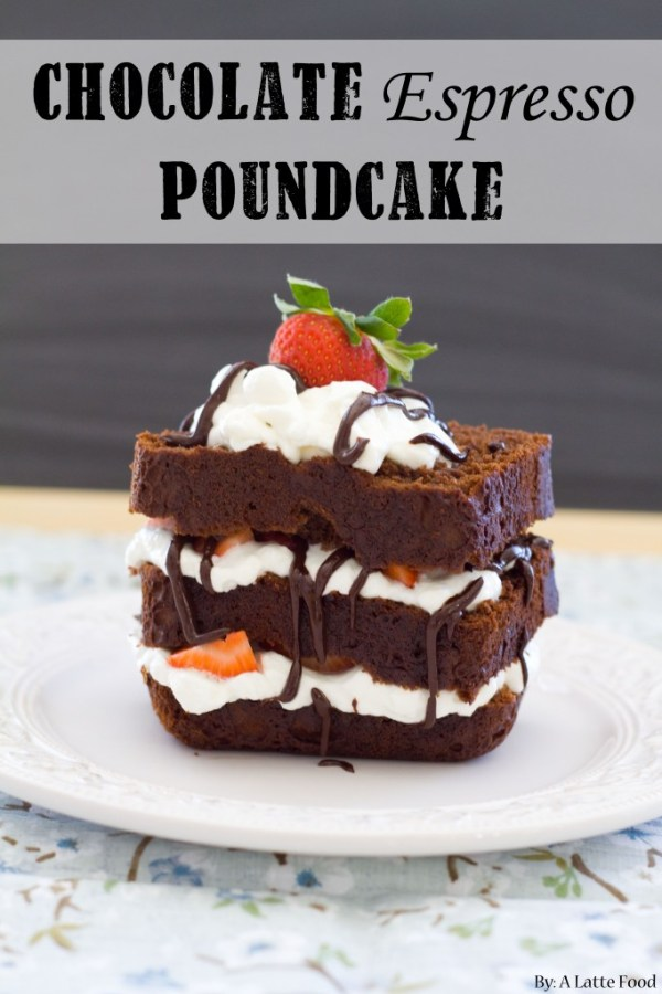 Chocolate Espresso Poundcake | A Latte Food