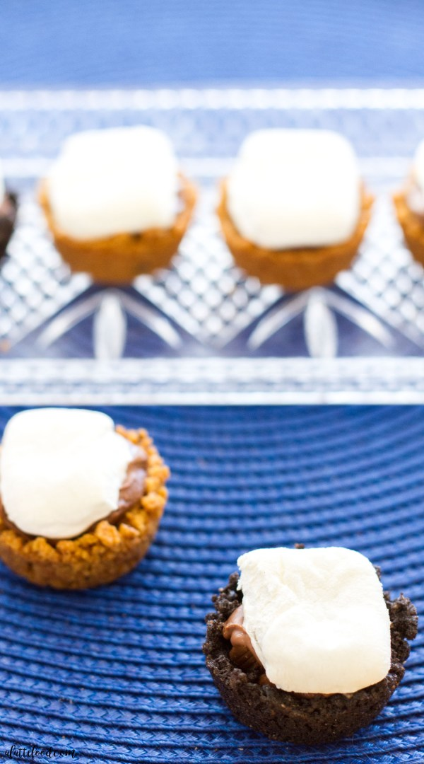 Mini S'mores Bites: All the flavors of the classic campfire dessert are combined into one perfect bite!