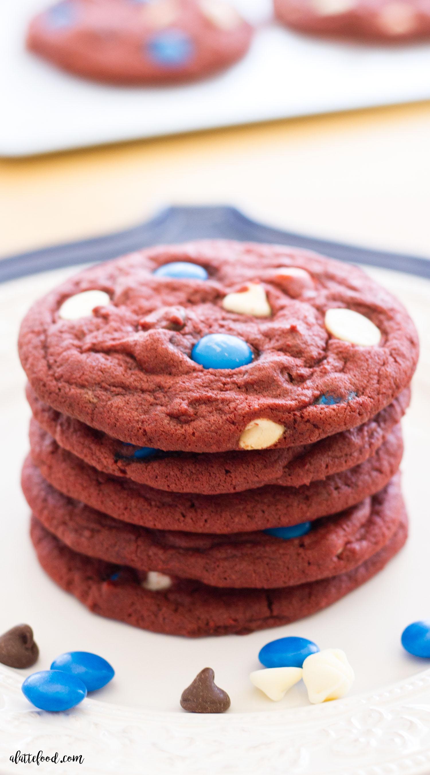Cranberry Almond Bundt Cake · Red Velvet Chocolate Chip Cookies