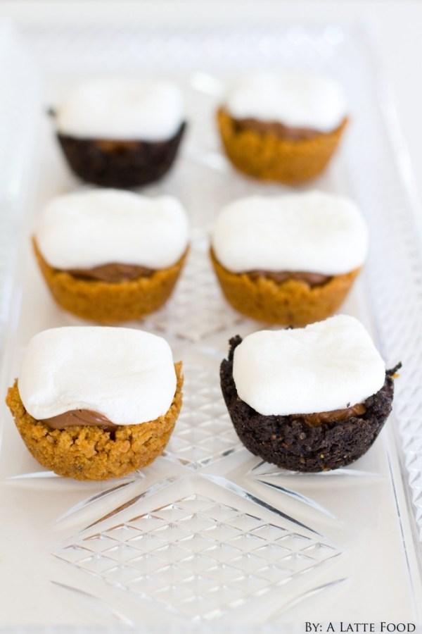 Mini S'mores Bites | A Latte Food
