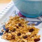Oatmeal Raisin Cookie Granola | A Latte Food