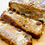 Cheesecake Stuffed Carrot Cake Bread