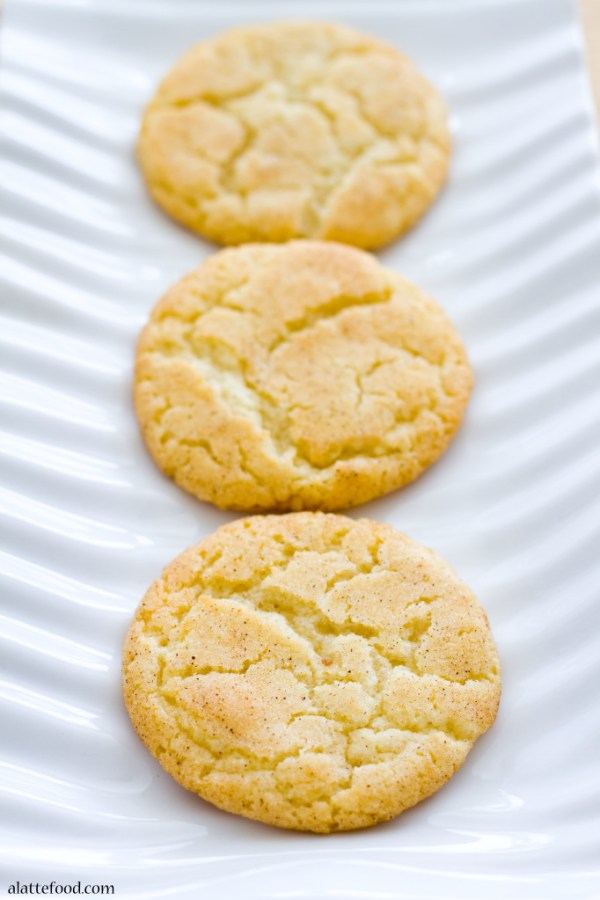 Classic Snickerdoodles | A Latte Food