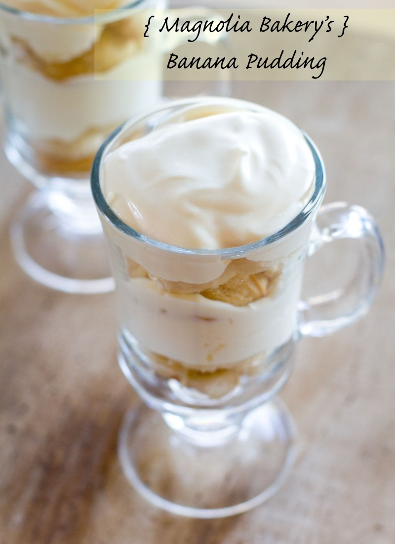 {Magnolia Bakery's} Banana Pudding