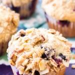 Blueberry Orange Crumb Muffins
