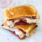 Bacon Barbecue Chicken Grilled Cheese
