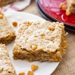 Maple Butterscotch Cookie Bars