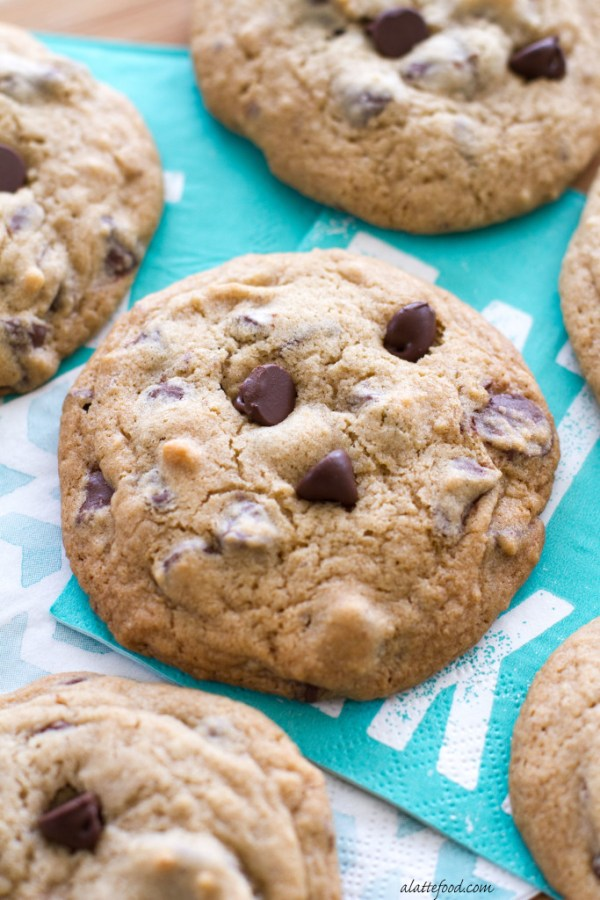These tasty chocolate chip cookies are kicked up a notch with the addition of chocolate cherry chips!90