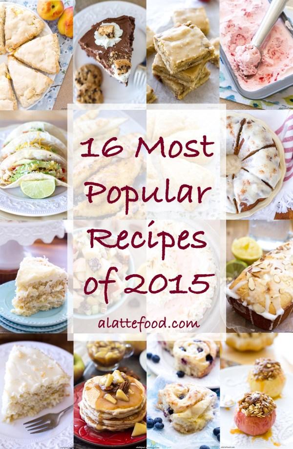 2015 Recipe Roundup