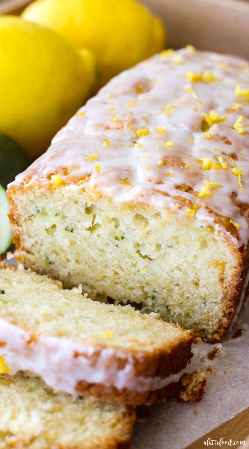 This easy zucchini bread recipe has a lemon bread twist to it, making it the perfect quick bread for spring and summer! Seriously, lemon zucchini bread is going to be your newest summer dessert obsession! lemon bread, lemon dessert, zucchini bread, zucchini bread recipe