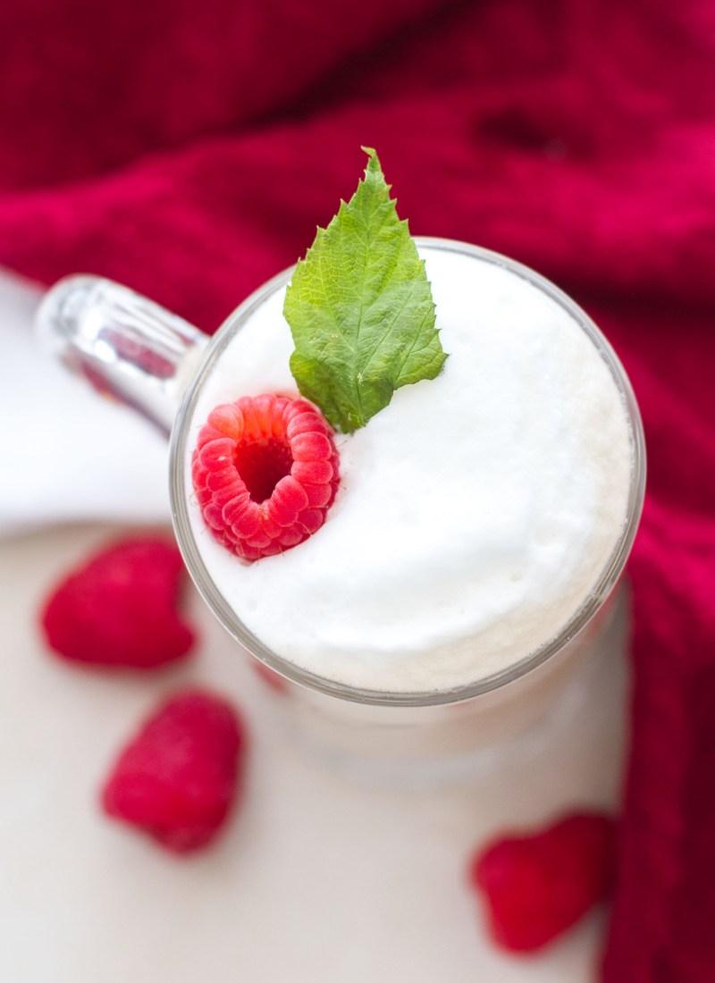 White Chocolate Raspberry Vanilla Latte