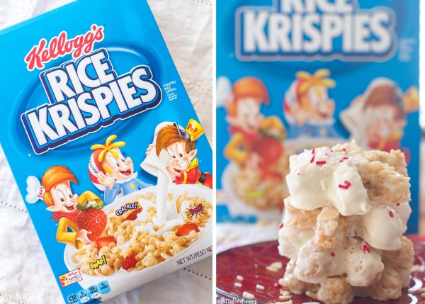 These easy homemade White Chocolate Peppermint Rice Krispies Treats are such a fun treat for the holiday season! The classic Rice Krispies Treat recipe is given a holiday twist with the addition of peppermint and white chocolate, and are cutout in the shape of snowflakes!