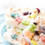 Frozen Greek Yogurt Cereal Bark