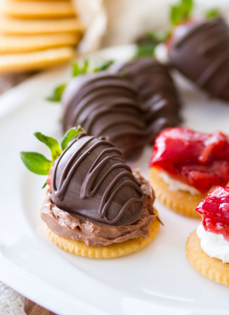 RITZ Crackers Appetizers 4 Ways