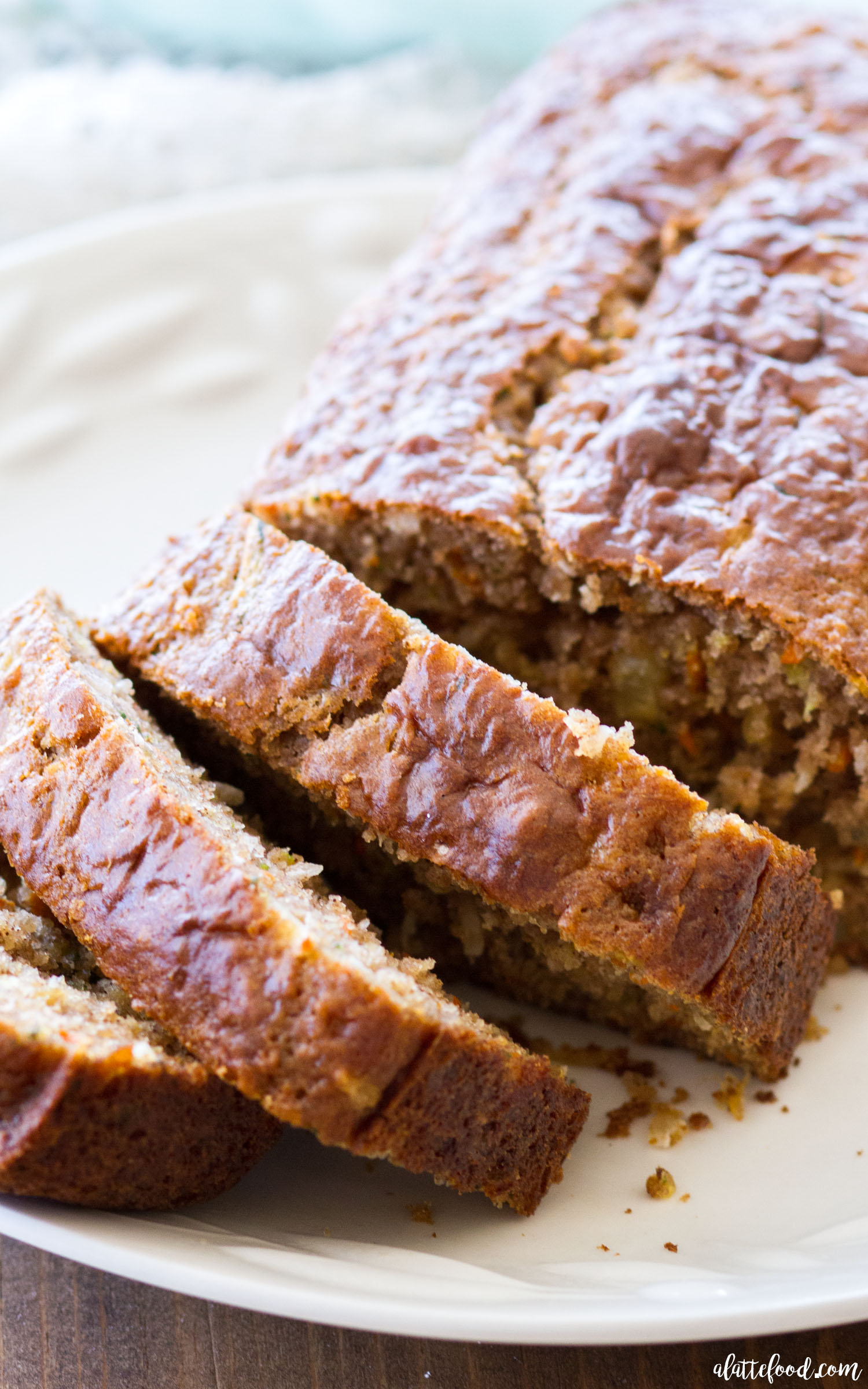 Pineapple carrot zucchini bread video a latte food recipe image forumfinder Choice Image
