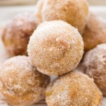 Cinnamon Sugar Pumpkin Donut Holes