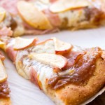 Apple Butter Ham Pizza