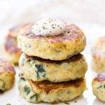 Mini Spinach and Herb Potato Cakes