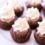Chocolate Coconut Cream Pie Cookie Cups