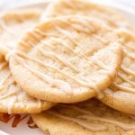 These chewy maple sugar cookies with a maple icing make a perfect dessert.