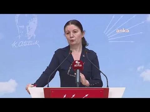 CHP Genel Başkan Yardımcısı Lale Karabıyık Açıklama Yapıyor – CANLI