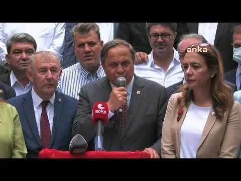 CHP Genel Başkan Yardımcısı Seyit Torun, Giresun'da Açıklama Yapıyor