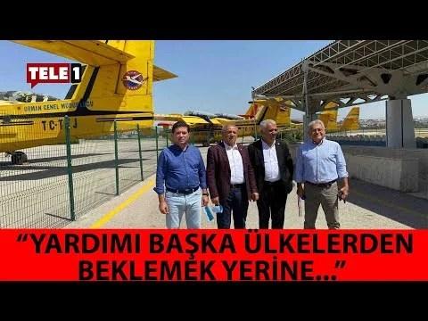 CHP'li vekiller THK hangarından seslendi: Uçakları bize verin, tamirlerini yapalım