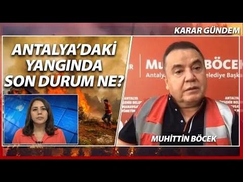 Türkiye Yanıyor Konuk: Muhittin Böcek | KARAR GÜNDEM