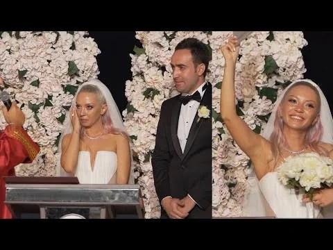 Ece Seçkin'in göz yaşları… Ünlü popçu nikah masasında göz yaşlarına boğuldu…